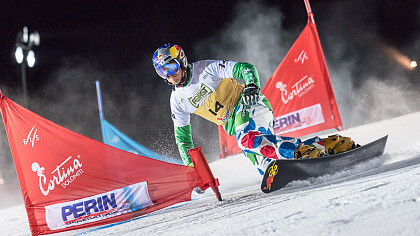 Snowboard Weltcup in Cortina d'Ampezzo - cover