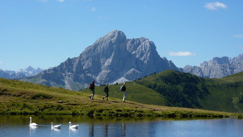 Escursione in quota al laghetto Glittner See all'Alpe di Luson - cover