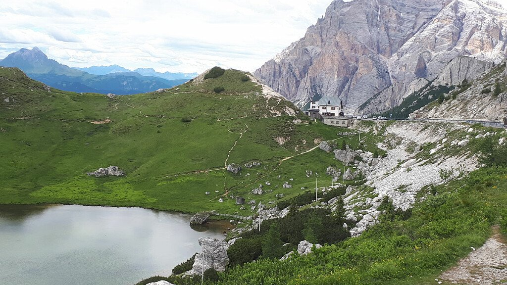 Trekking of Valparola Pass  - cover