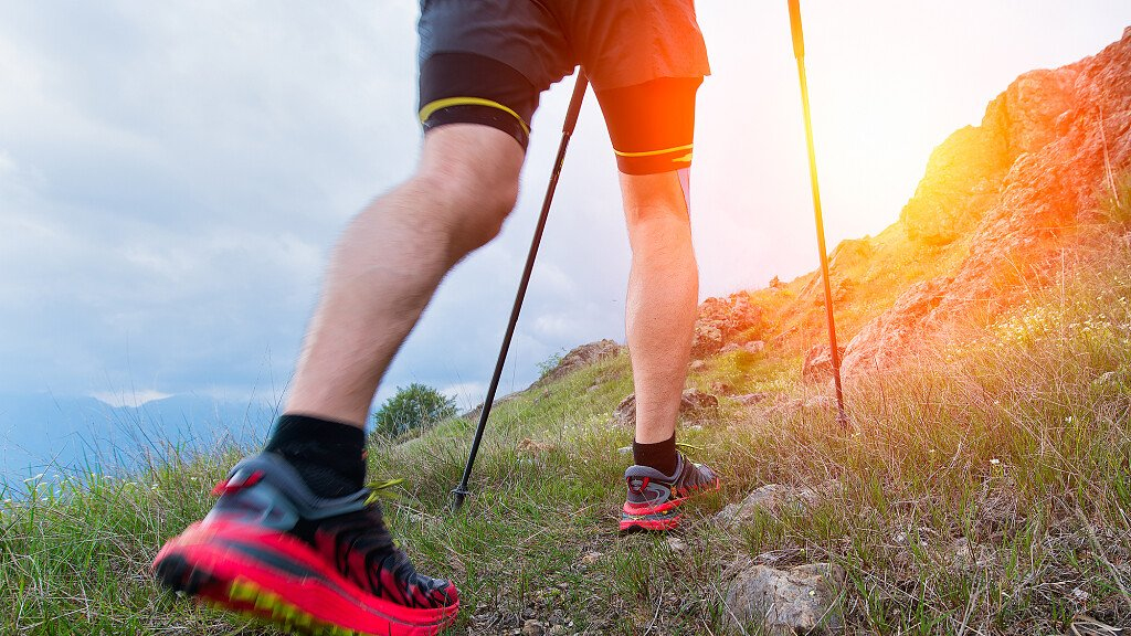 Winter Nordic walking on the Armentara meadows - cover