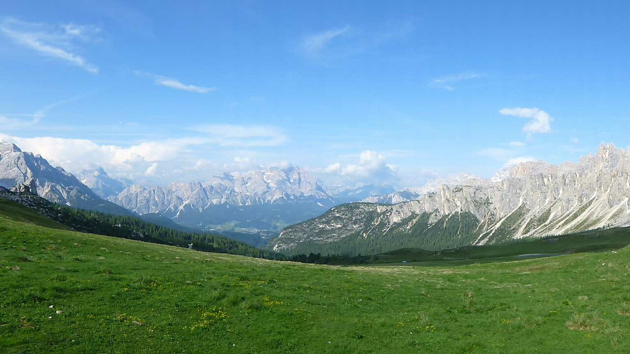 La valle del Centro Cadore tra le Dolomiti UNESCO