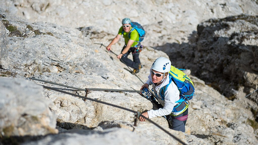 Alpen Route Val di Fassa: Alpen-Routen Masarè und Vael - cover