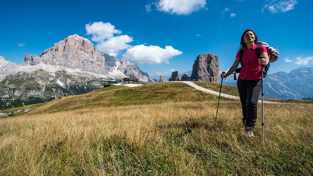Trekking Colle S.Lucia e Passo Giau: Tie - Canazei - Ru - Costalta - Fossal - Pont - Costa  - cover