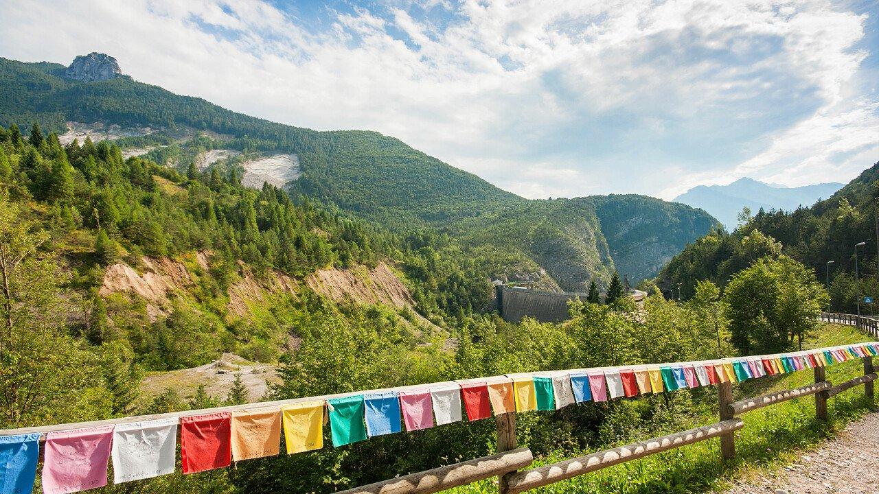 Gite estive alla diga del Vajont - Friuli Venezia Giulia