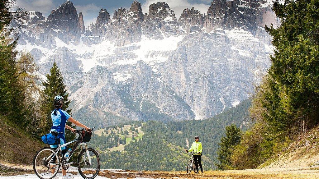 Itinerari in MTB Passo Manghen - cover