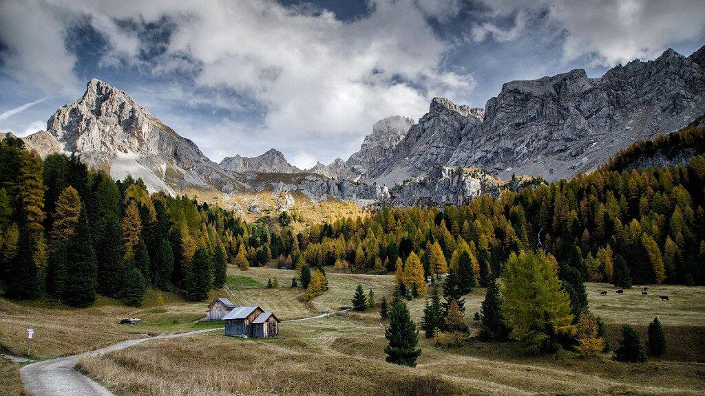 Trekking delle Leggende - Val di Fassa - itinerario 1 - cover