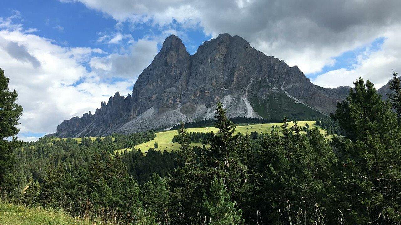 Estate a Luson, in Valle Isarco in Alto Adige
