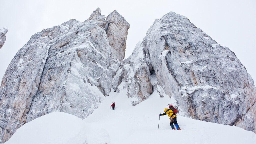 Itinerario di scialpinismo: Monte Pramaggiore - cover