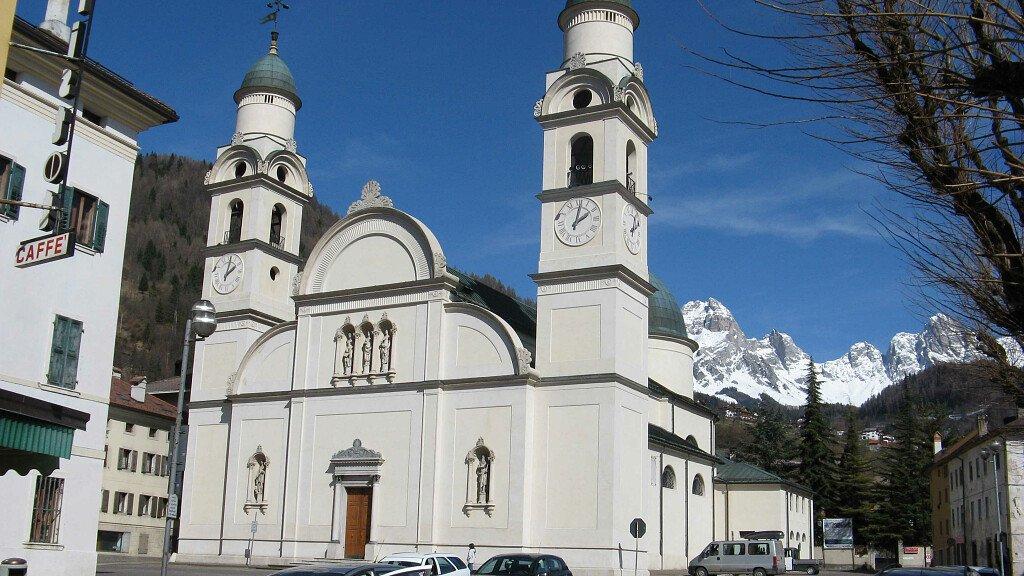 Pedalando in Agordino: nei luoghi di Papa Luciani - cover