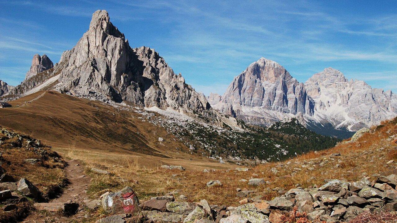 Le Dolomiti UNESCO sopra Cortina d'Ampezzo | Bellunese