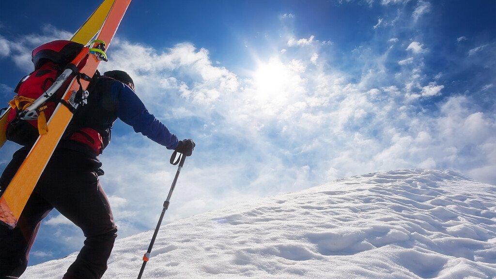 Itinerario di sci alpinismo: salita Erte - cover