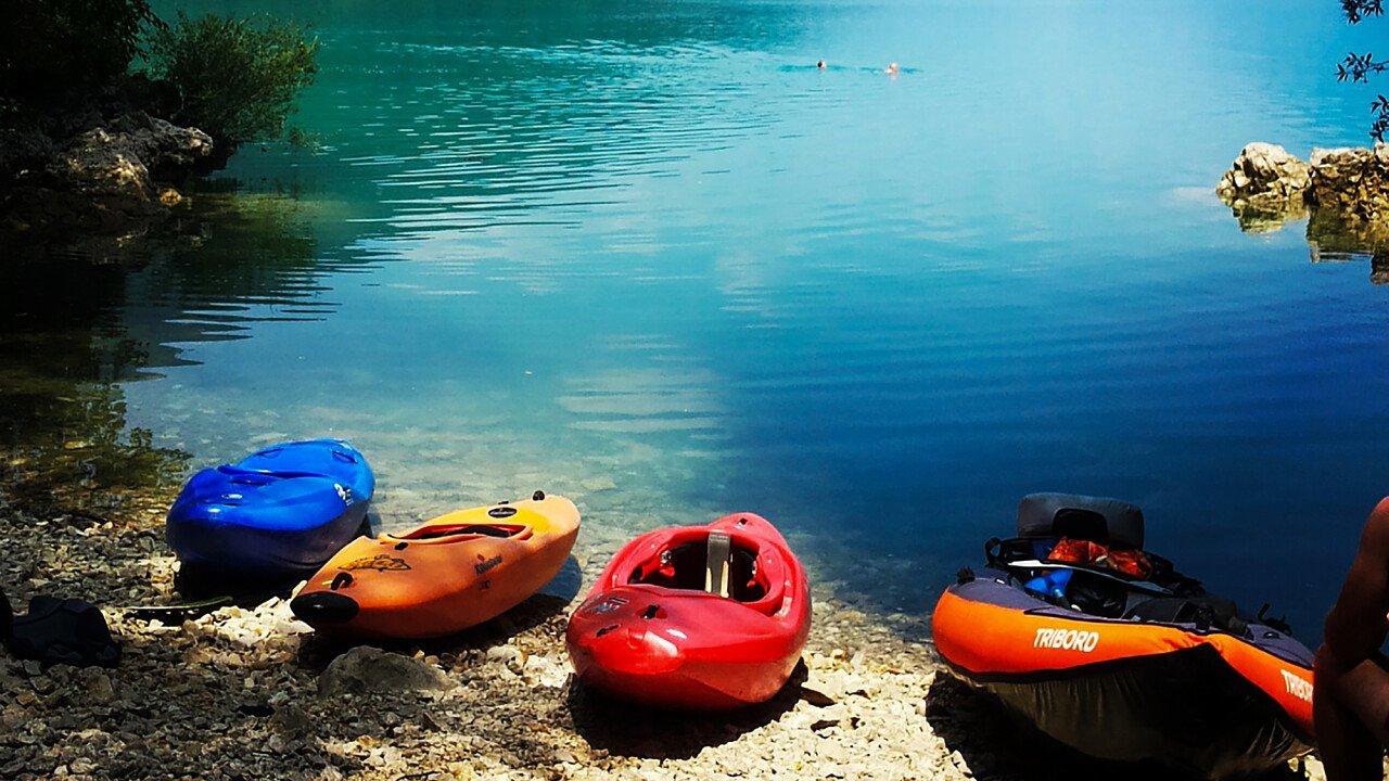 Canoa e kayak al Lago di Santa Croce