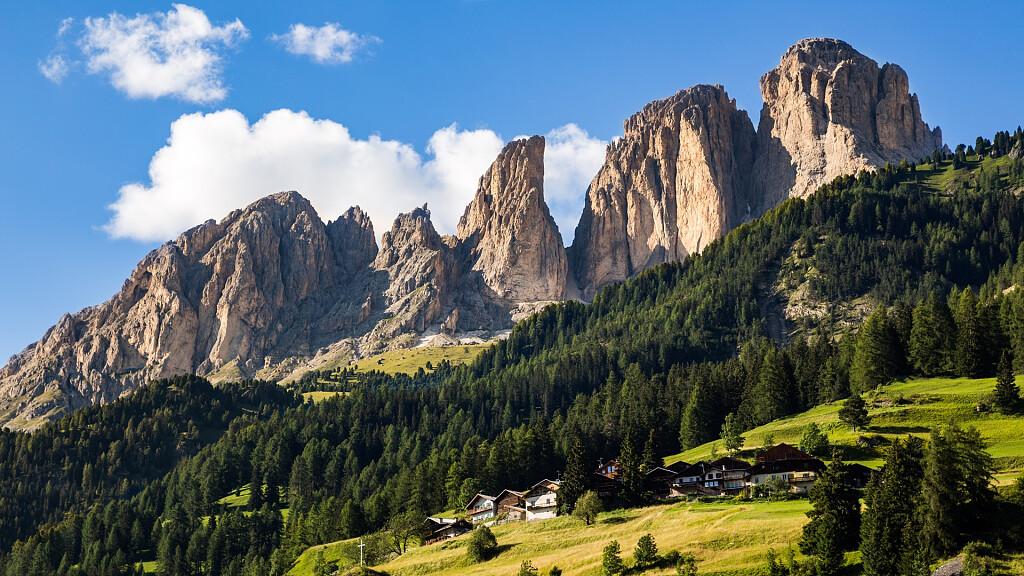 Trekking auf dem Langkofel: Rundgang von Col Rodella - cover