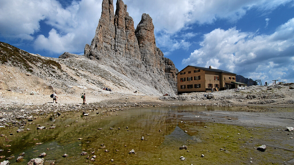 Escursione sulle Torri del Vajolet - cover