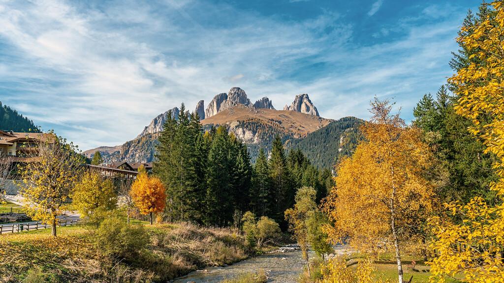 Alba di Canazei - Rifugio Contrin - Passo Cirelle - Fuciade - Passo San Pellegrino - cover