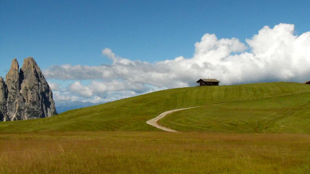 Dolomiti Accessibili: itinerario Alpe di Siusi – Baita Sanon - cover