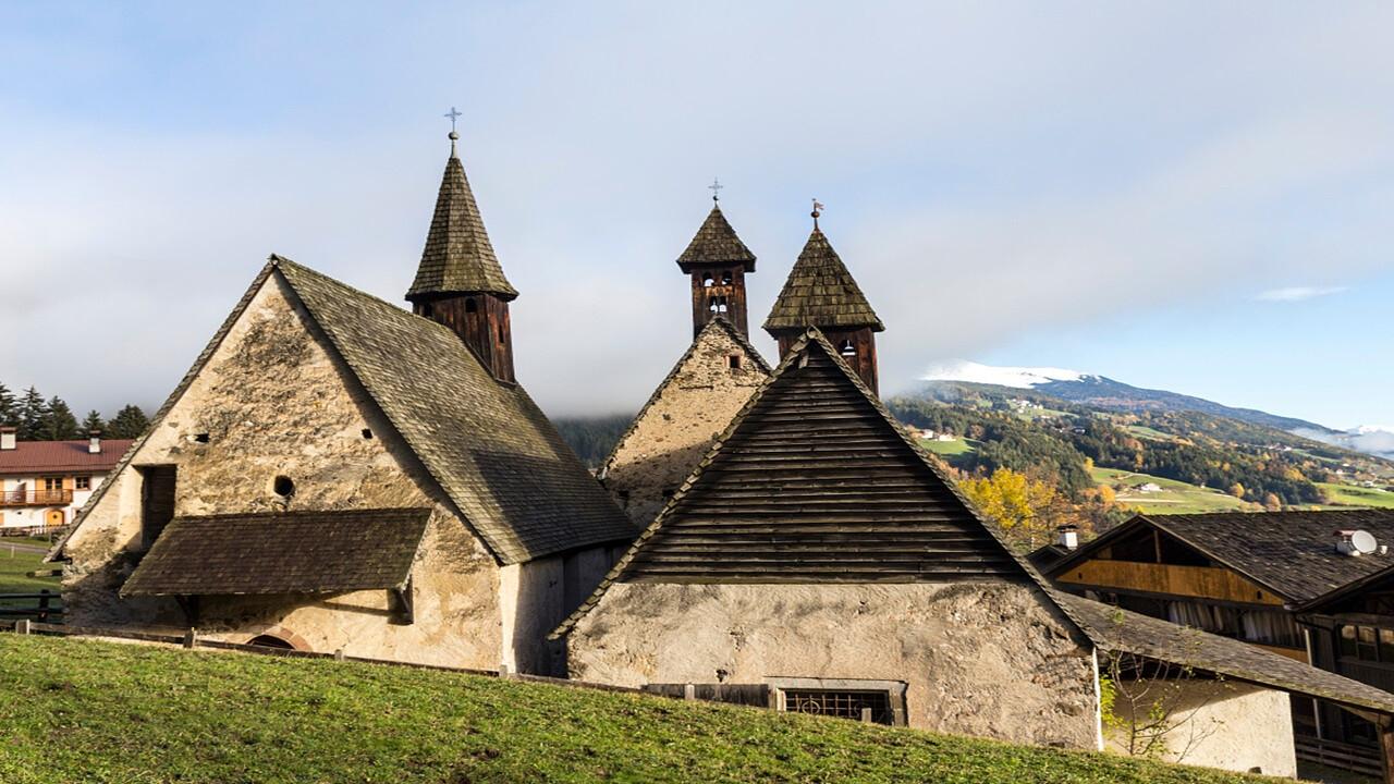 Three churches Barbiano