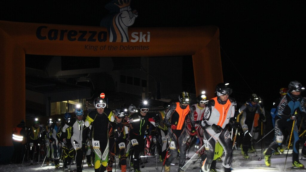 Sci alpinismo in notturna in Alto Adige - cover