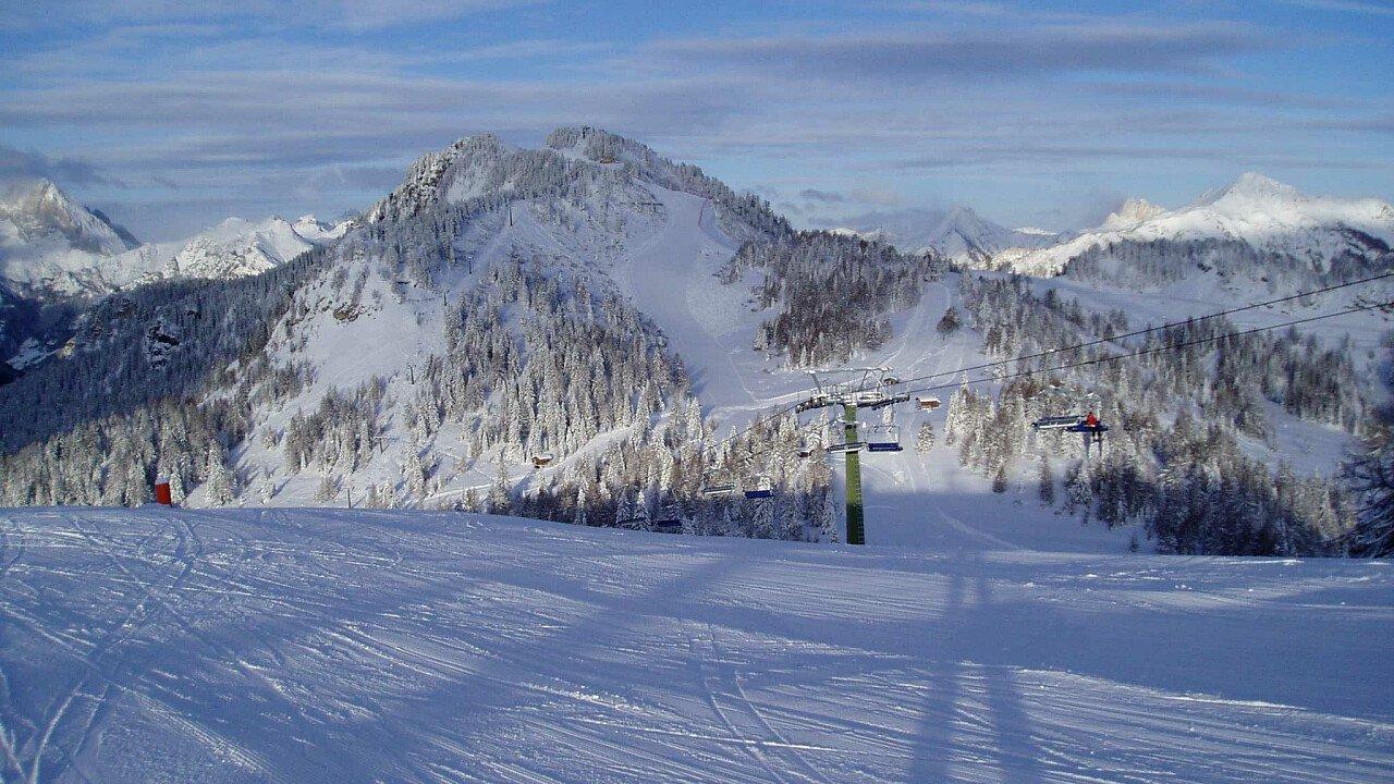 Ski area Civetta Alleghe in inverno - Dolomiti UNESCO