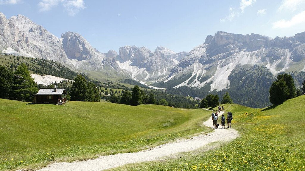 In Val Gardena con la mountain bike - cover