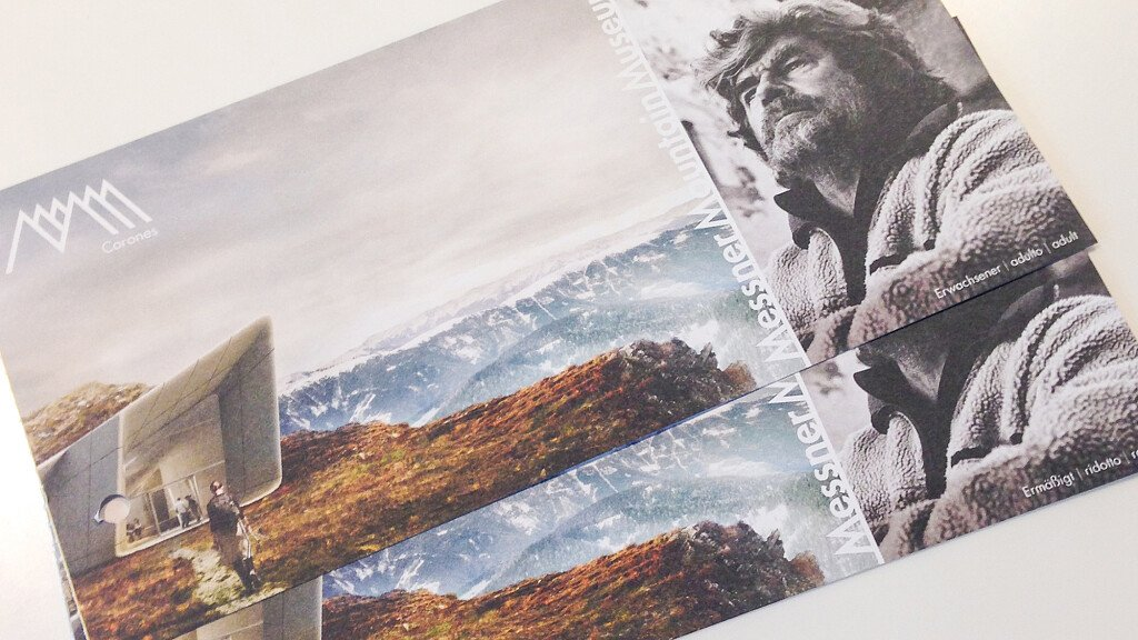 New MMM five-in-one ticket: interview with Reinhold Messner - cover
