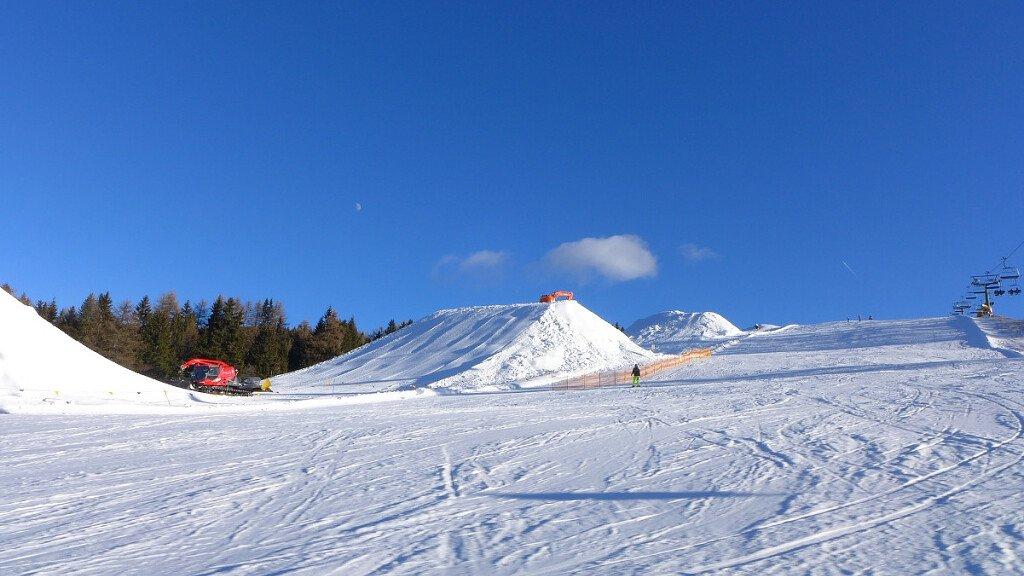 King Laurin Snow Park: divertimento assicurato per gli snowboarder - cover