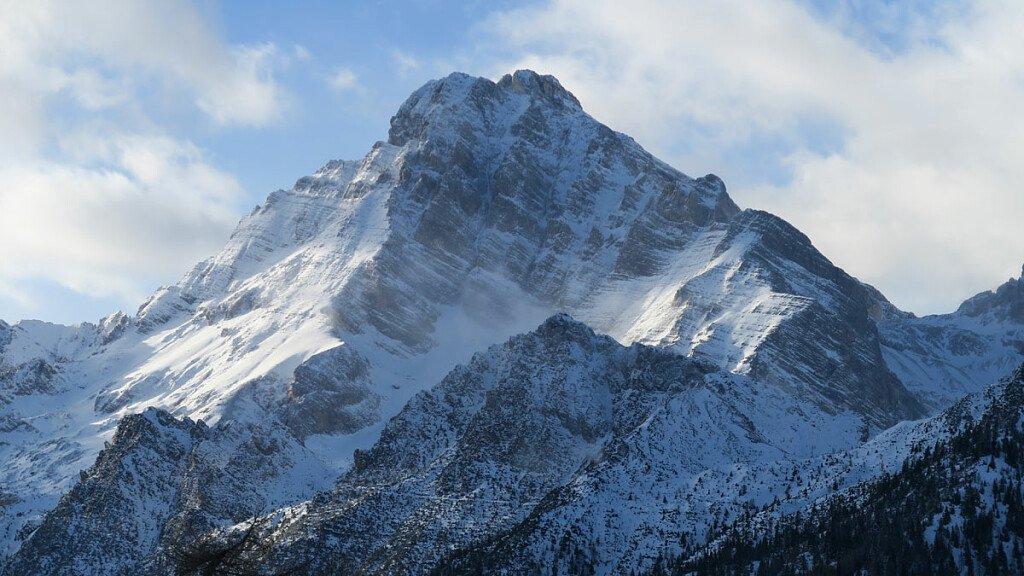 Monte Antelao: aperta una nuova via in solitaria - cover