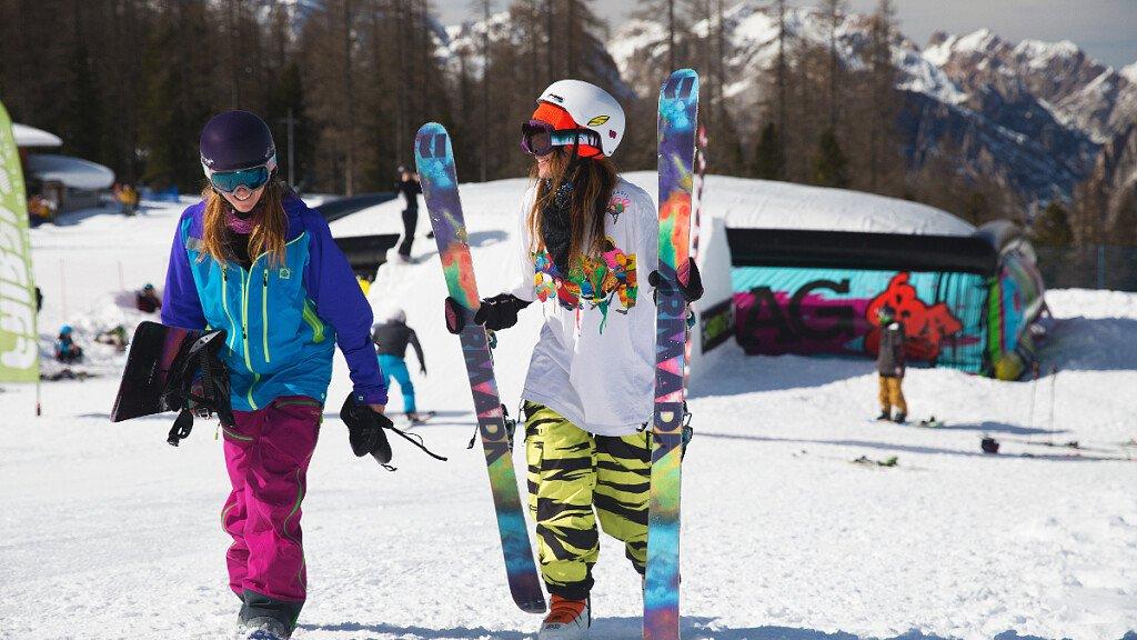 Cortina: nuovo snowpark  - cover