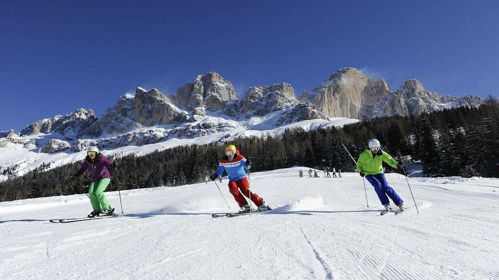 Im Eggental können Sie der erste Skifahrer des Tages sein - cover