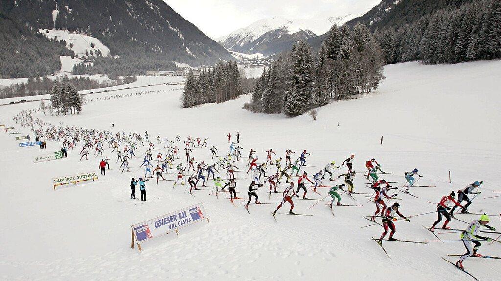 Der Langlauf-Champion Pietro Piller Cottrer ist Werbeträger für dolomiti.it - cover