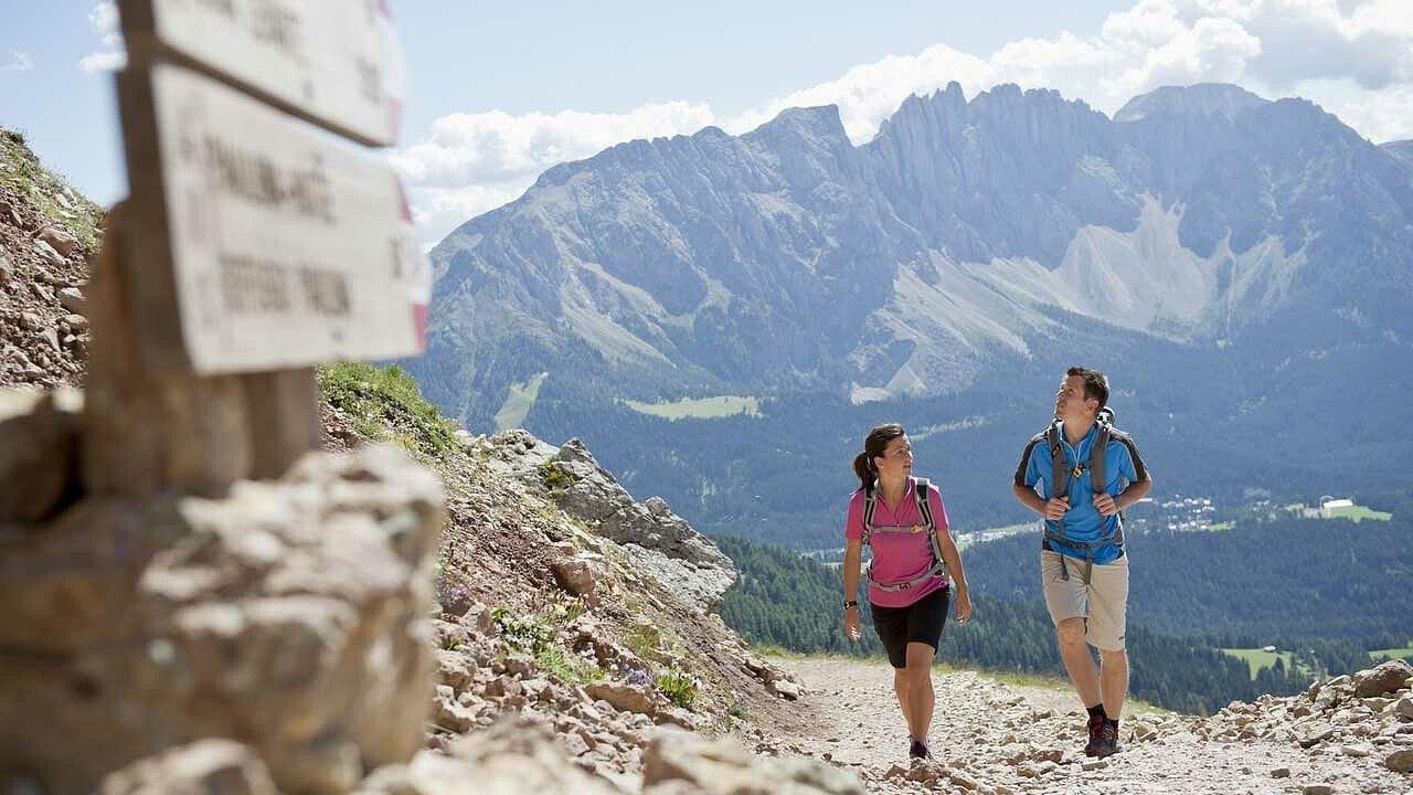 Trekking tra le Dolomiti del Rosengarten Latemar - Alto Adige