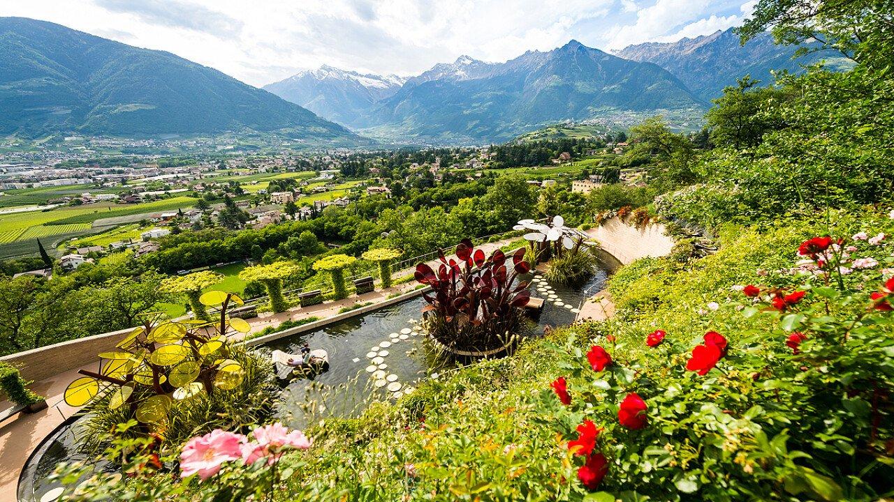 Luoghi da visitare: Giardini di Sissi a Merano - dolomiti.it