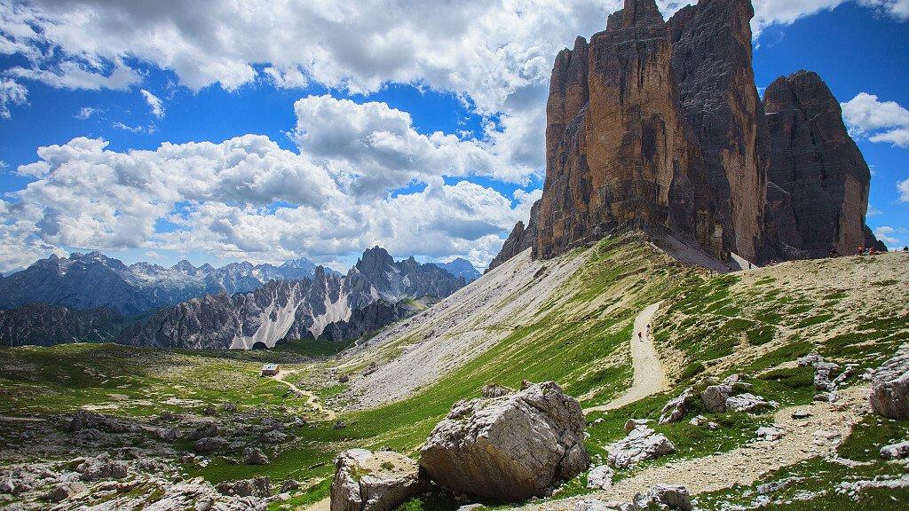 Il Cammino delle Dolomiti - cover