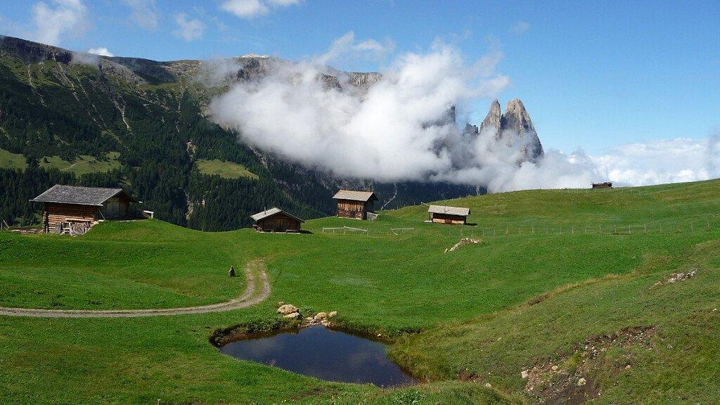 Le notti bianche all'Alpe di Siusi - cover