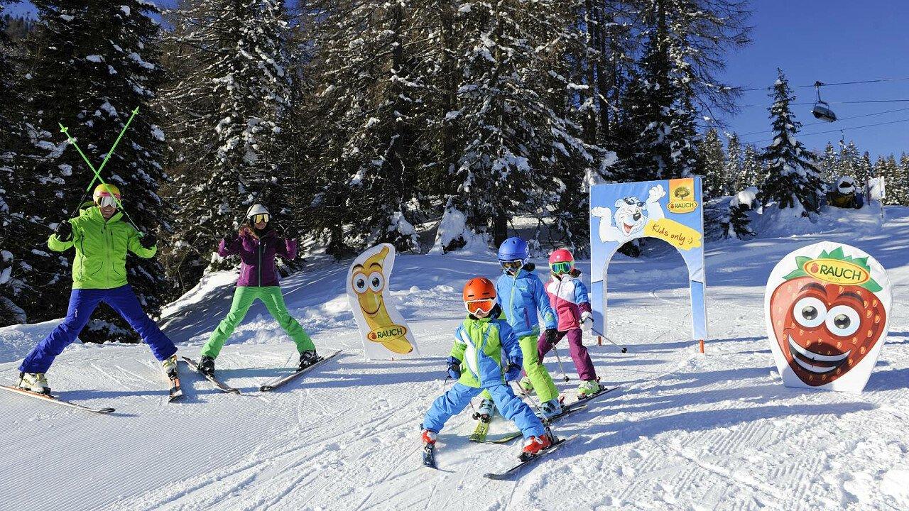 Scuola sci tra le Dolomiti del Rosengarten Latemar - Alto Adige