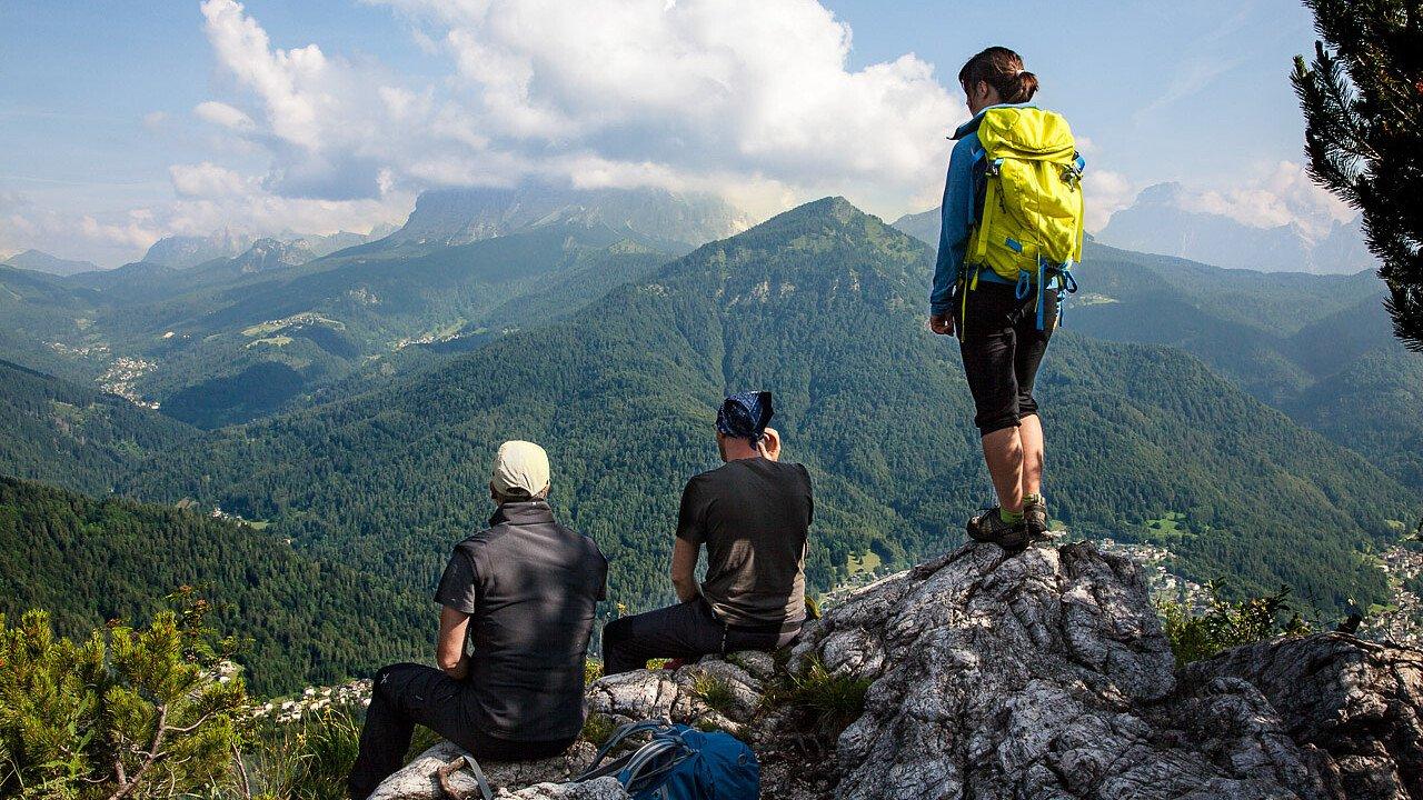 Con gli amici tra i sentieri della Val di Zoldo | Dolomiti UNESCO