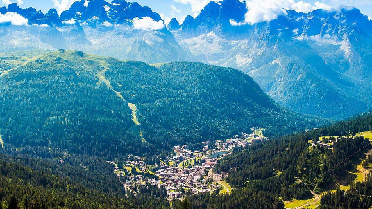 Madonna di Campiglio in Val Rendena in Trentino