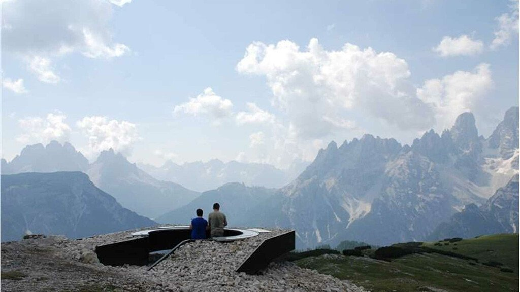 Nuova terrazza panoramica in Val Gardena - cover