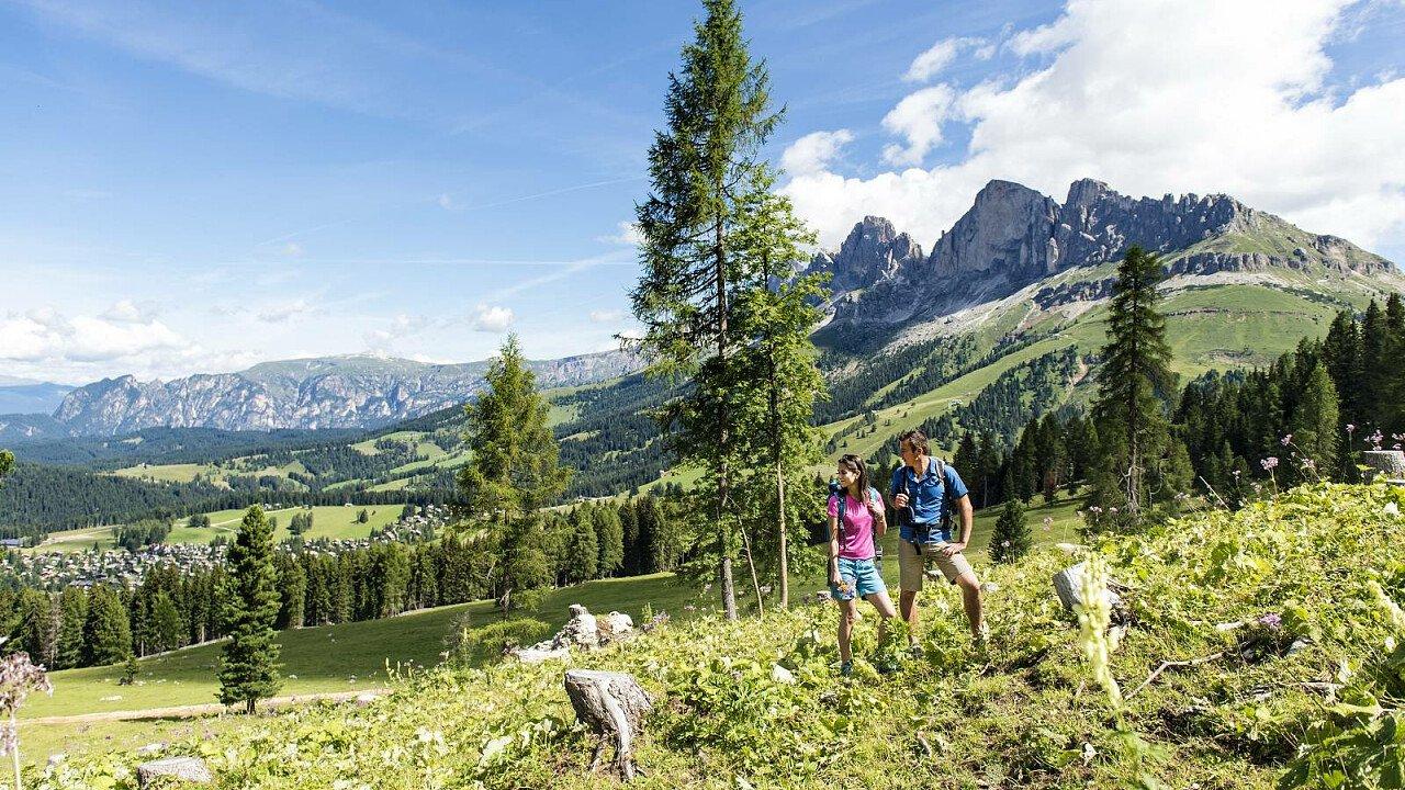 Natura incontaminata in Val d'Ega in Alto Adige