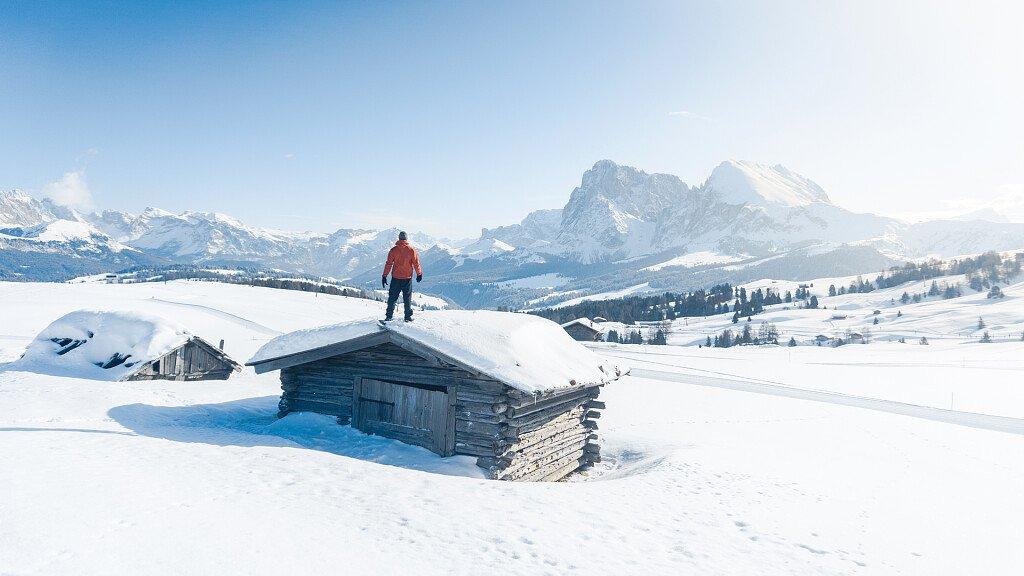 All'Alpe di Siusi per recuperare le forze - cover