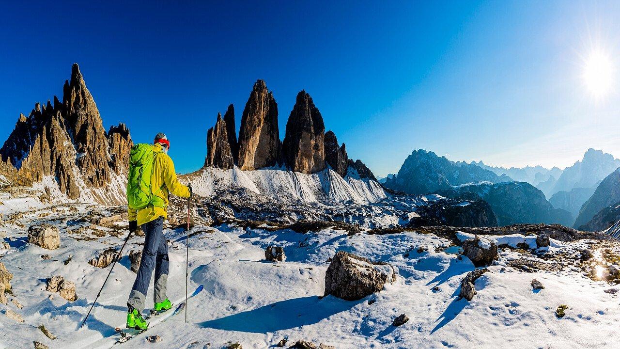 Sci alpinismo Tre Cime