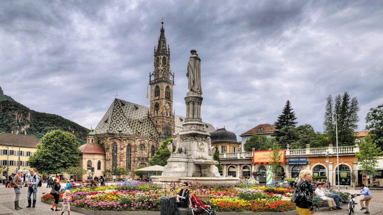 Piazza Walter a Bolzano