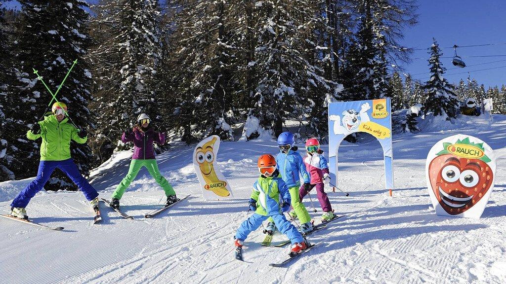 Parchi gioco sulla neve in Alto Adige - cover