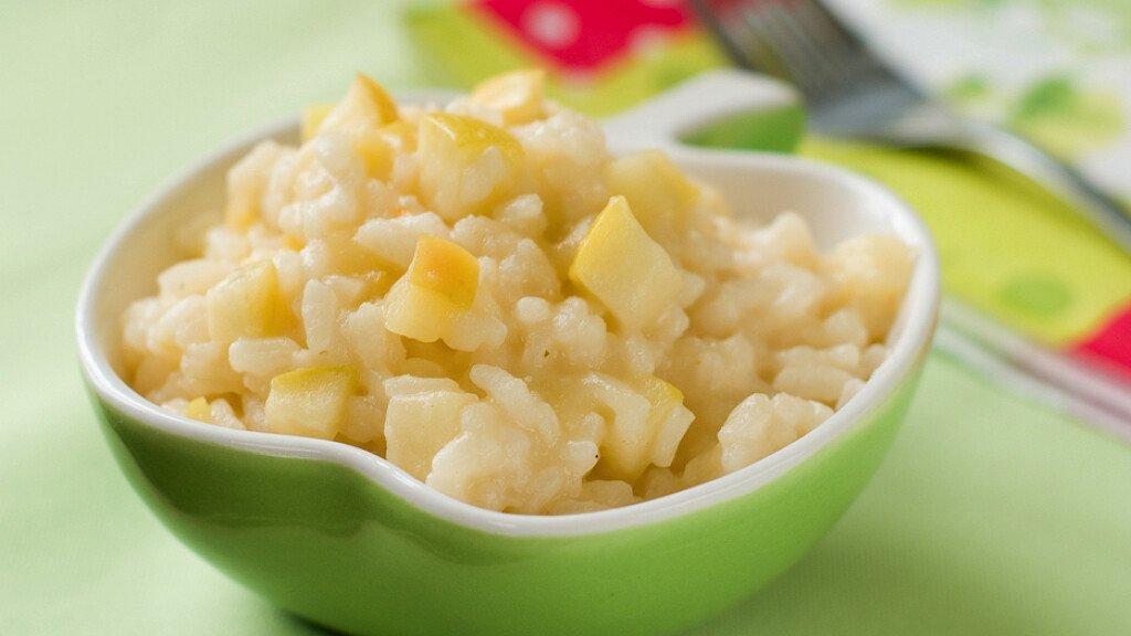 Ricetta del risotto con le mele - cover