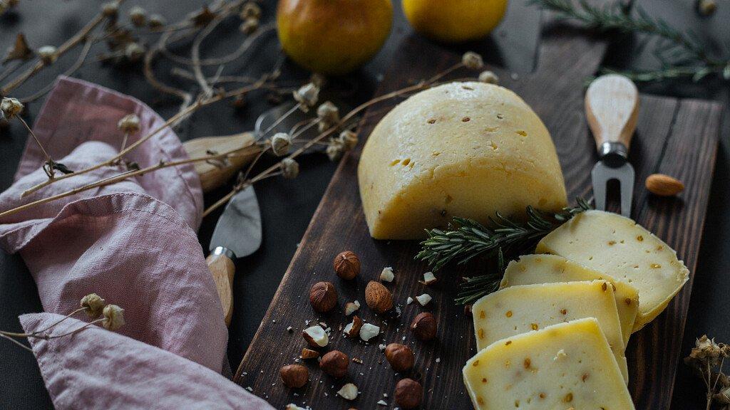 Ricetta del formaggio Tre Valli alla grappa - cover