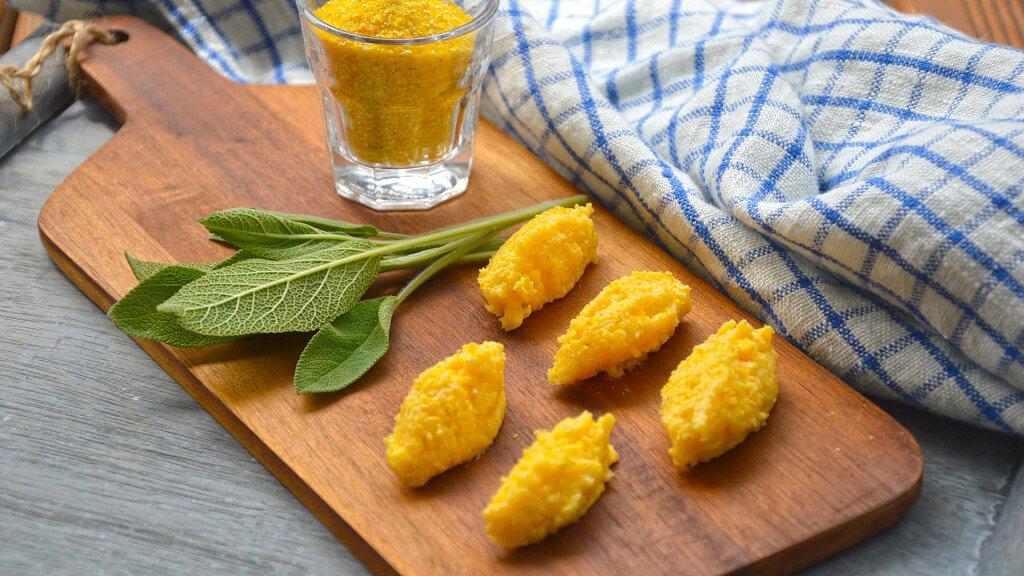 Ricetta: Gnocchetti di polenta alla crema di latte e ricotta - cover