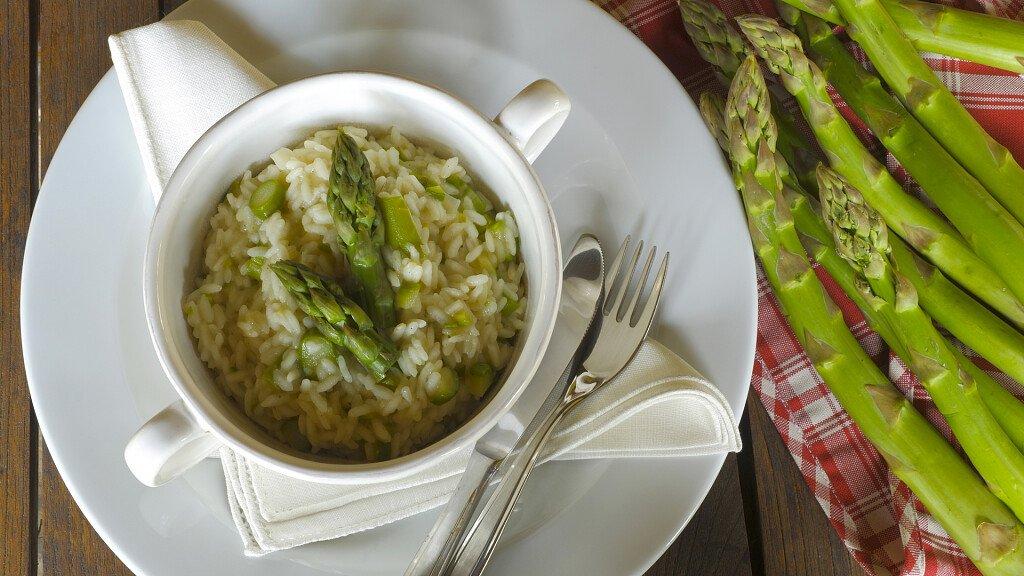 Ricetta del risotto agli asparagi - cover