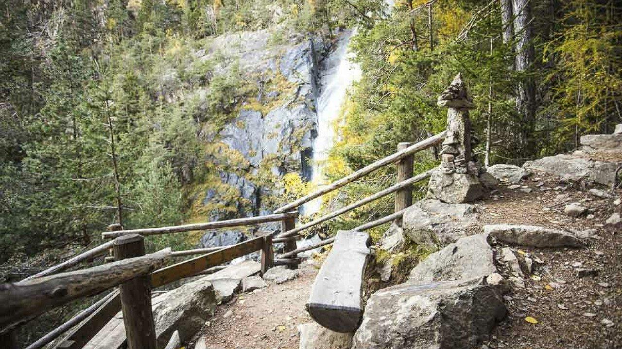 Le cascate di Barbiano in Valle Isarco - cascate in Alto Adige