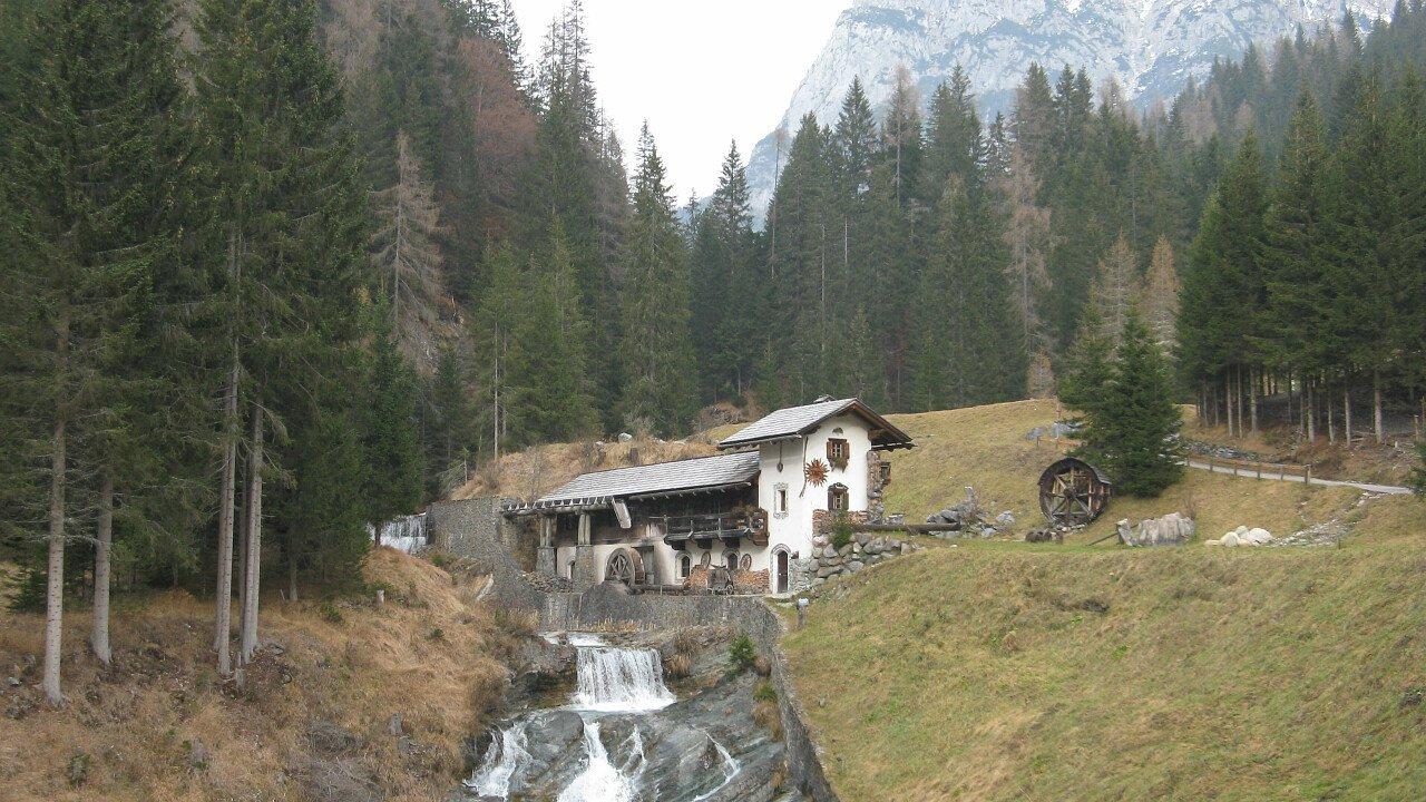 Mulino a Cima Sappada tra le Dolomiti