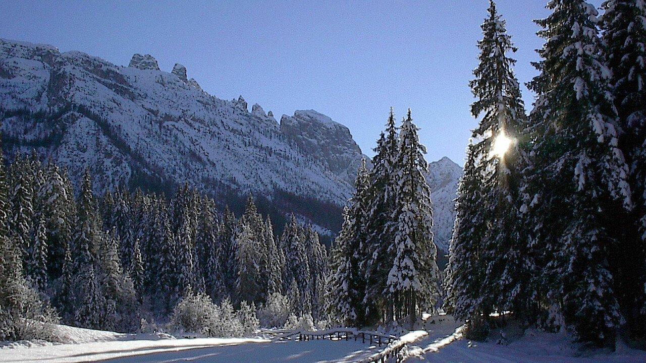 L'inverno tra Comelico e Sappada - le Dolomiti in inverno